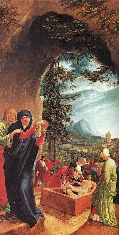 ALTDORFER, Albrecht The Entombment h oil painting image